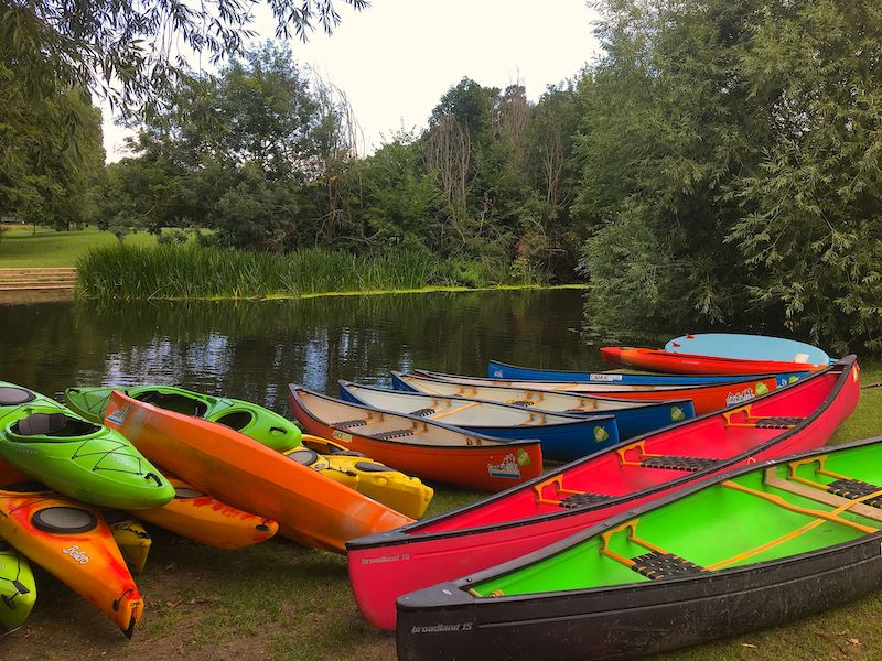 Keep Calm and paddle on with Canoe Trail
